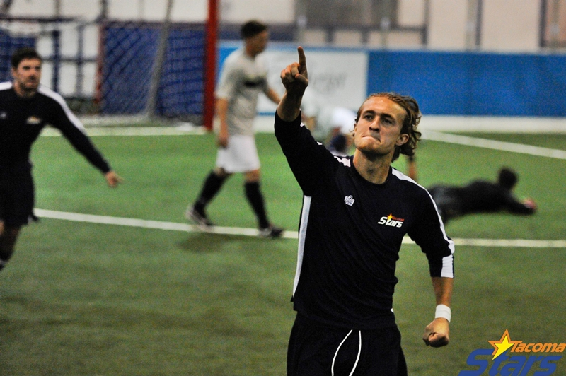 Who scored the first goal for Tacoma Stars 3.0? It's Duncan McCormick! (Chris Coulter)