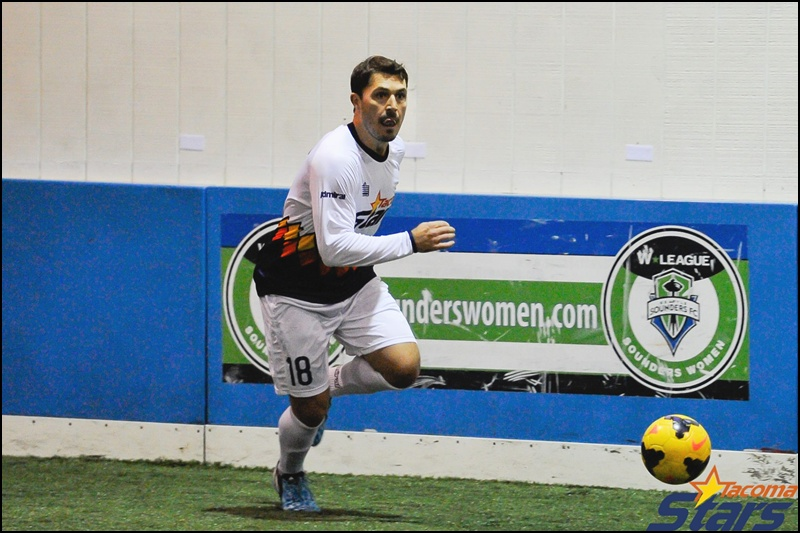 Chris Raymond scored Tacoma's first goal. (Chris Coulter)