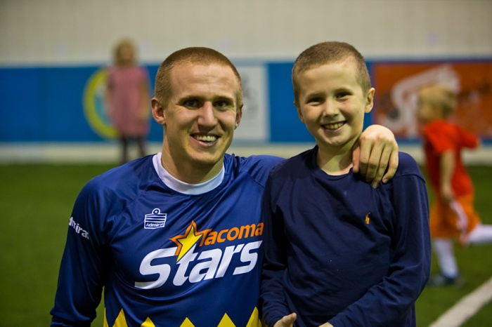 Josh Phillips scored in his last Stars match before heading to the Colorado Switchbacks of the USL Pro. (Bruce Benson)