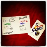 Keepsake: A Stars fan posted these autographs after the MASL debut.