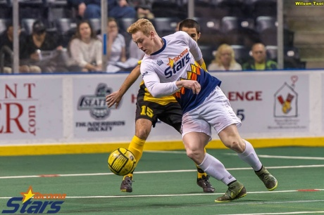 Vince McCluskey had his eyes opened as to what it will take to compete in the MASL. (Wilson Tsoi)