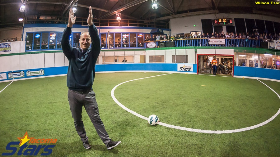 Tacoma Stars GM John Crouch says the club learned a lot both on and off the pitch in their 7 MASL matches this season. (Wilson Tsoi)